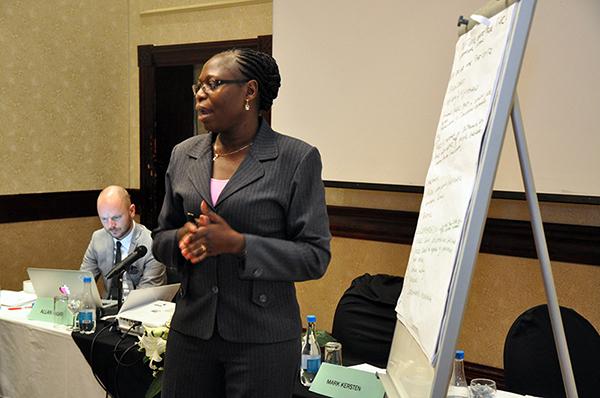 International Symposium  Ending Impunity Together: Exploring Links Between Core International Crimes and Transnational Organised Crimes  27 - 28 October 2015  Gaborone, Botswana Photo: Wayamo Foundation.