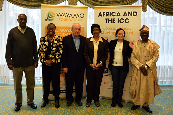 Members of the Africa Group for Justice and Accoutnability.  Photo: Kris Kotarski, Wayamo Foundation.