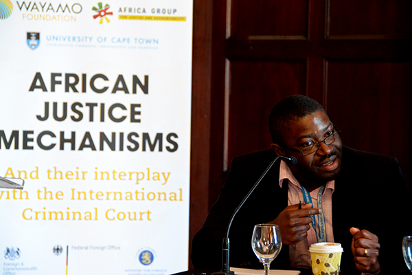 Dapo Akande (Nigeria), Professor of Public International Law, University of Oxford has joined the Africa Group for Justice and Accountability. Also joining the group are the former President of the Central African Republic Catherine Samba-Panza and Tiyanjana Maluwa (Malawi)   H. Laddie Montague Chair in Law, Pennsylvania State University School of Law; Former Associate Dean for International Affairs, School of Law & Director, School of International Affairs. Photo: Kris Kotarski, Wayamo Foundation.