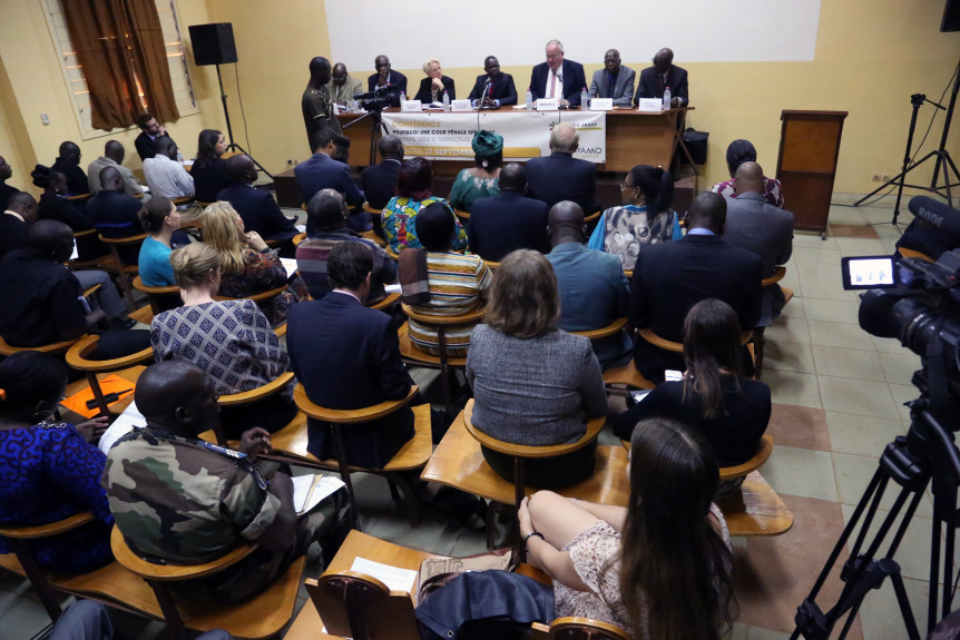 "Conference on ""Special Criminal Court for Central African Republic — Context, Challenges and Perspectives"" in Bangui, Central African Republic."
