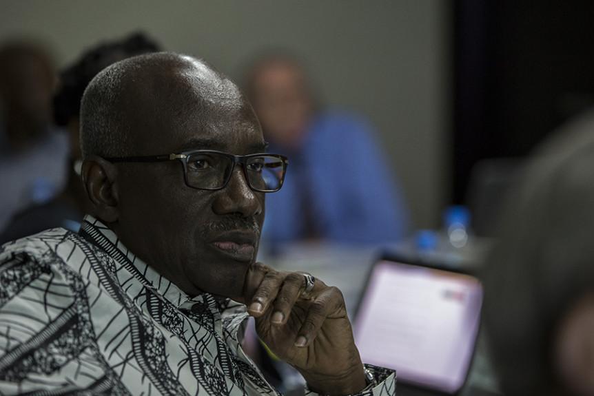 Hassan Bubacar Jallow. Photo: Matt Rhodes, Wayamo Foundation.