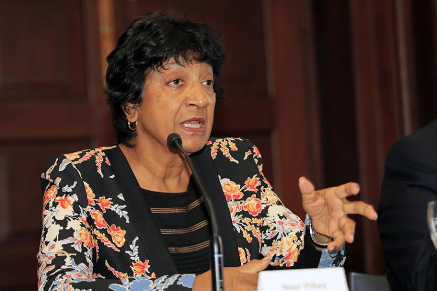 Former UN High Commissioner for Human Rights Navi Pillay. Photo: Kris Kotarski, Wayamo Foundation.