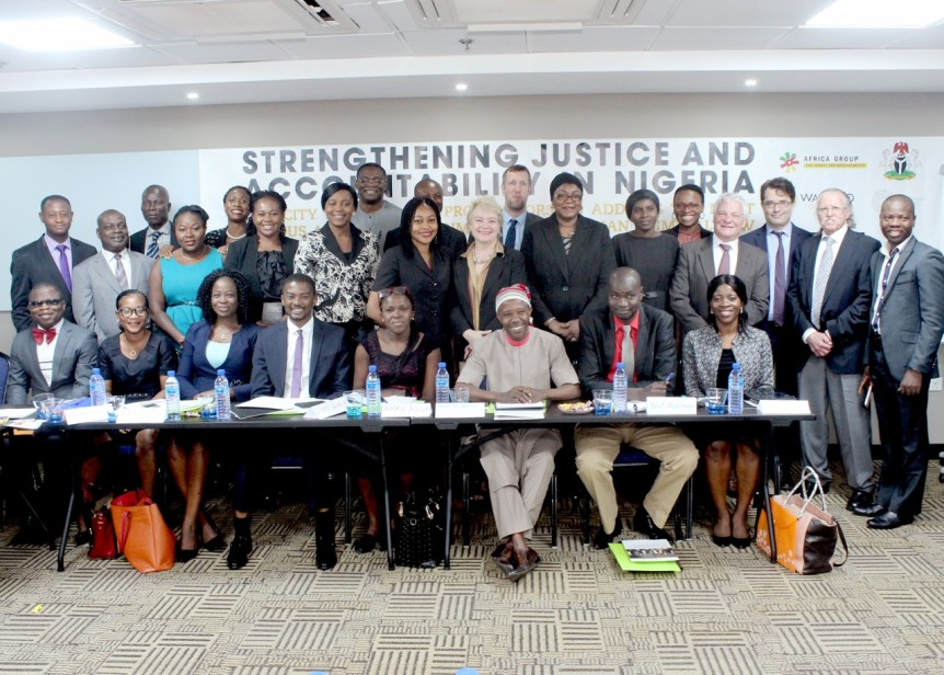 Strengthening Justice and Accountability in Nigeria: Capacity building for prosecutors to address the most serious and complex crimes under Nigerian criminal law. Lagos, 13-15 March 2017. Photo: Wayamo Foundation.