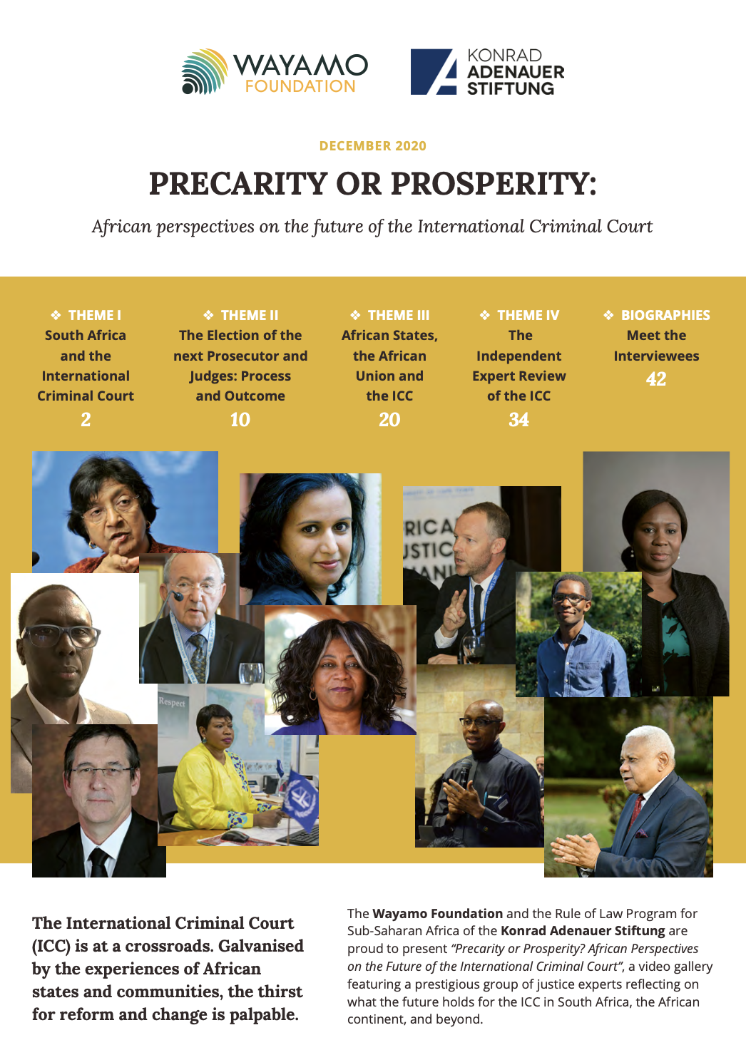 Thumbnail of African perspectives report